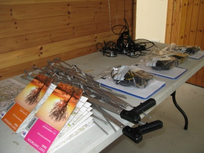 Bat tracking equipment