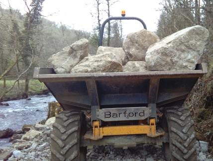 Dartmoor boulders