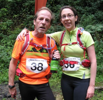 No.38 Peter and Catherine running as a team