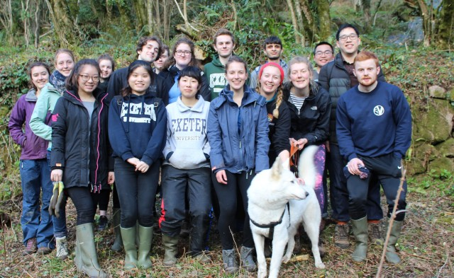 Bovey Valley Exeter students
