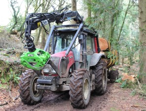 tractor loaded