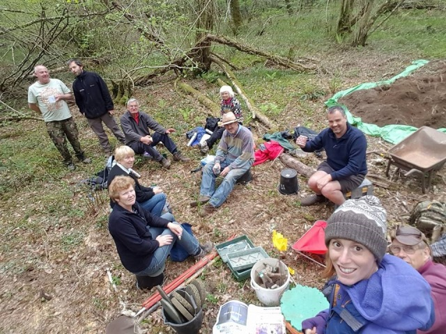 24.04.17 Excavation Tea break