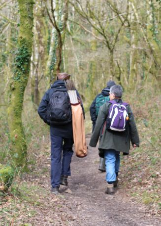 Bovey Valley History Hunters volunteers