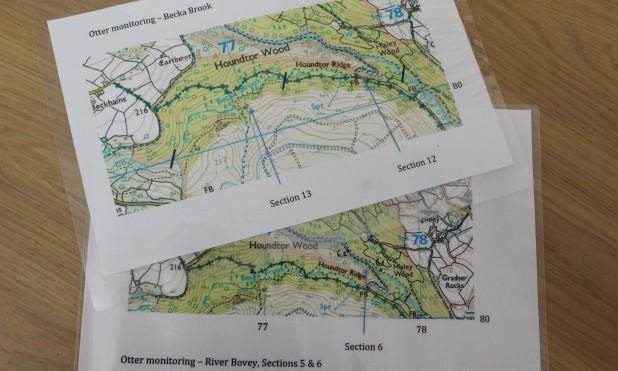 Bovey otter map