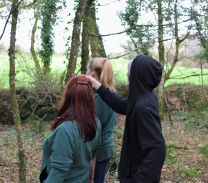 Deciding where to monitor dormice in the Becky Falls woodland